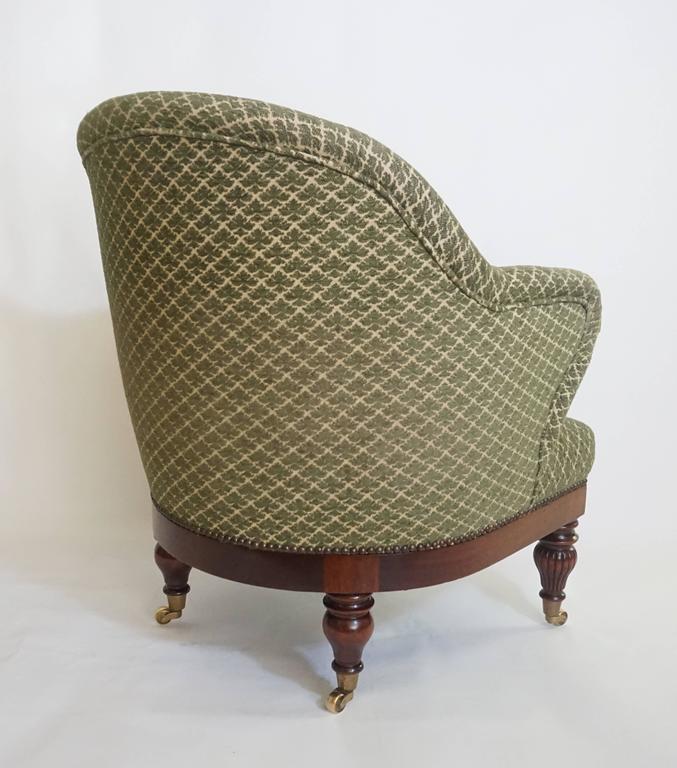 English Regency Tub or Club Chair, circa 1830 For Sale 6