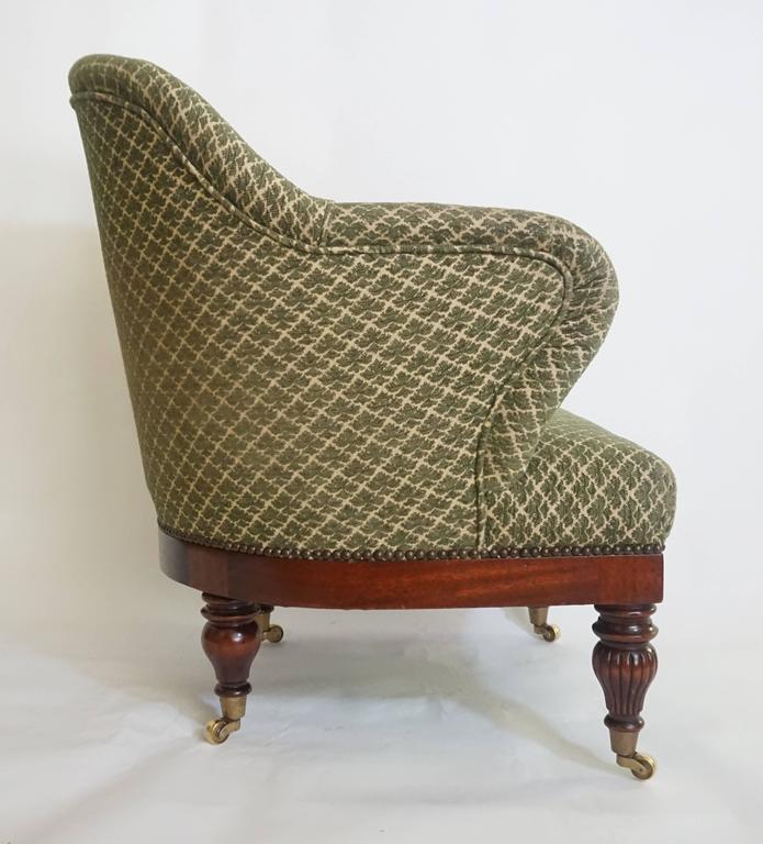English Regency Tub or Club Chair, circa 1830 For Sale 2