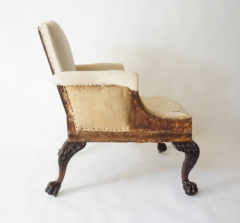 Early 20th Century George II Style Armchair by Lenygon & Company For Sale