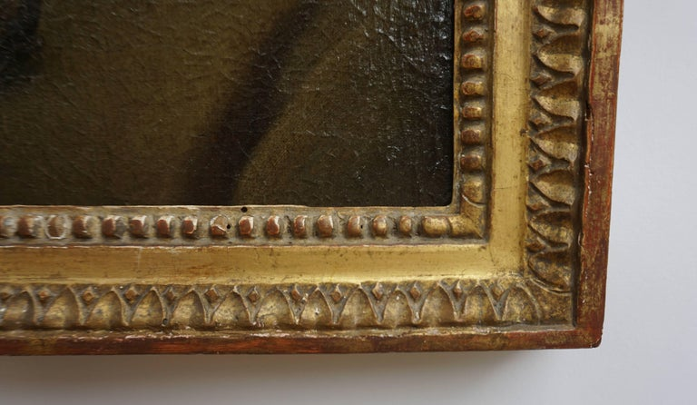 Portrait Painting of a Bewigged Gentleman, Prague, circa 1780 For Sale 3