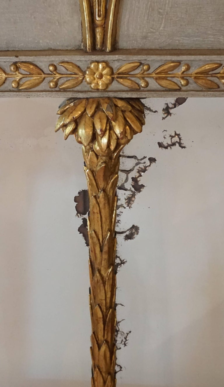Exceptional French Directoire Trumeau Mirror of Monumental Scale, circa 1800 8