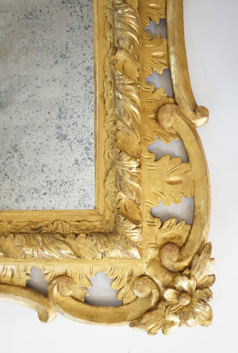 George II Rococo Style Mirror, England, circa 1830 For Sale 1