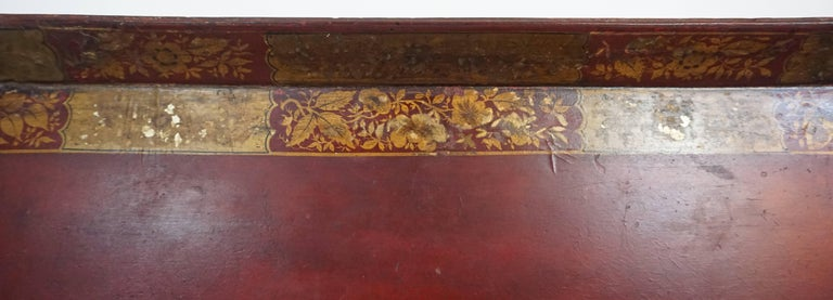 English Regency Papier Mâché Tray Top Low Table / Firescreen, circa 1810 3