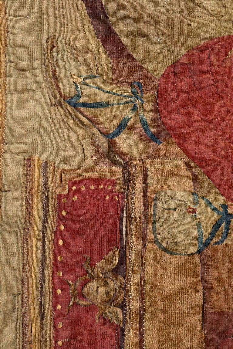 Wool Beauvais Mythological Tapestry of Orpheus and Eurydice, France, circa 1710
