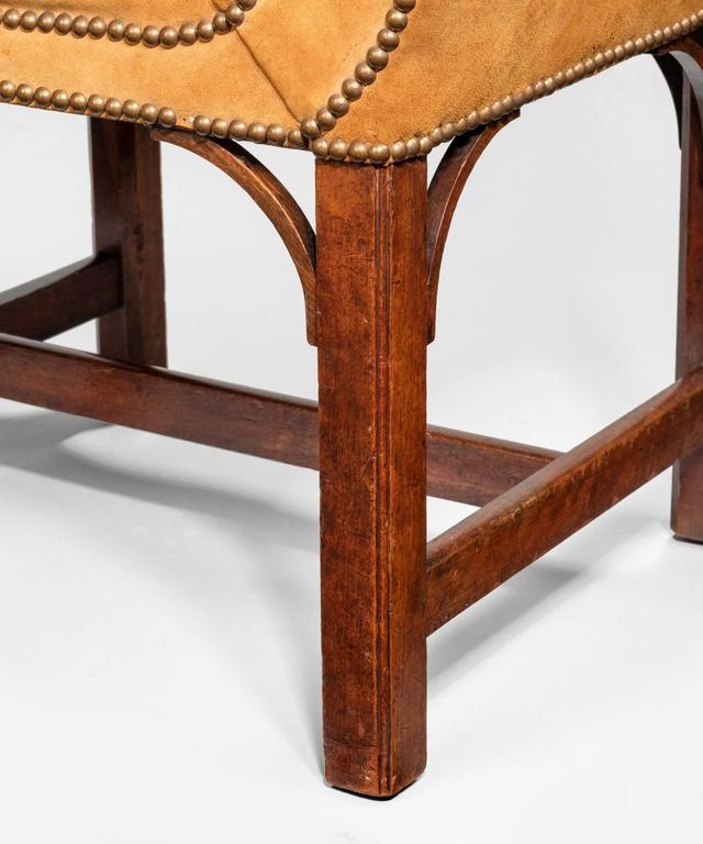 Chippendale Period Window Seat For Sale at 1stdibs