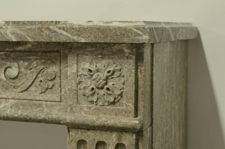 antique marble louis xvi fireplace mantel at 1stdibs