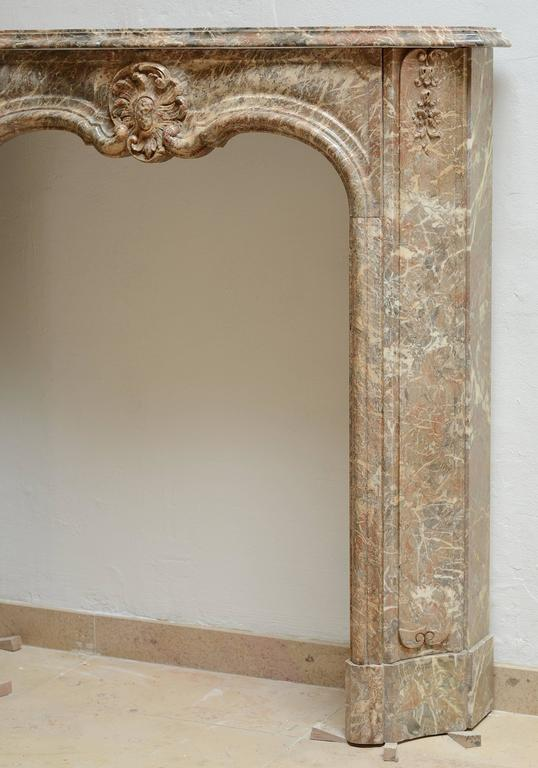 Carved Perfect Petite Régence Fireplace Mantel * Free Shipping * For Sale