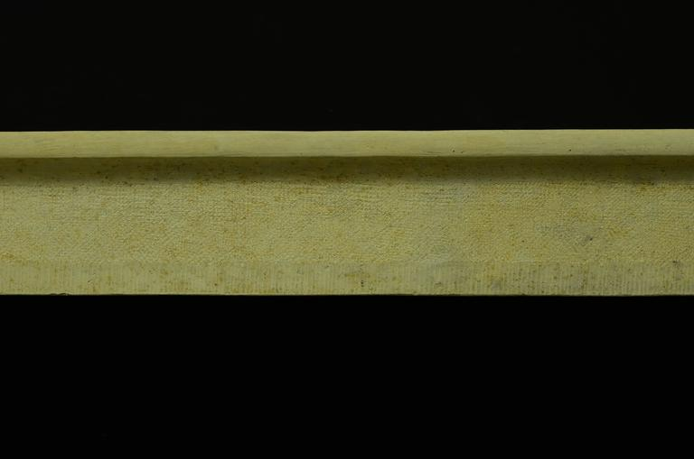 Antique French Limestone Fireplace Mantel, 19th Century For Sale 1