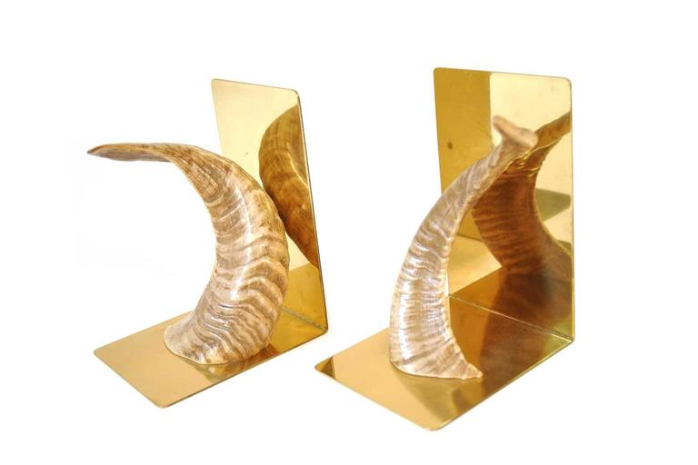 Pair of Bookends by Carl Auböck Werkstätte, Vienna, 1950s 2