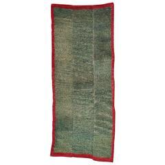 Antique Geometric Tibetan Tsutruk Khaden Rug