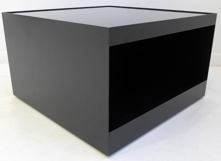 Pair of DUrso Rolling Tables in Black For Sale at 1stdibs : L1030719ocsl from www.1stdibs.com size 768 x 562 jpeg 16kB