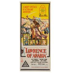 Original 1962 Film Poster 'Lawrence of Arabia' (Australian)