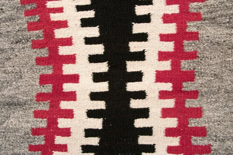 American Vintage Navajo Trading Post Rug, circa 1930 For Sale