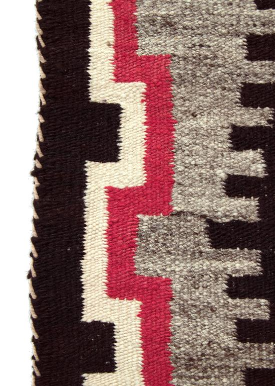Vintage Navajo Trading Post Rug 20th Century For Sale At