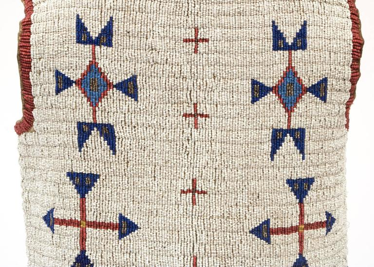 Antique Native American Beaded Child's Vest, Sioux (Plains), 19th Century 5