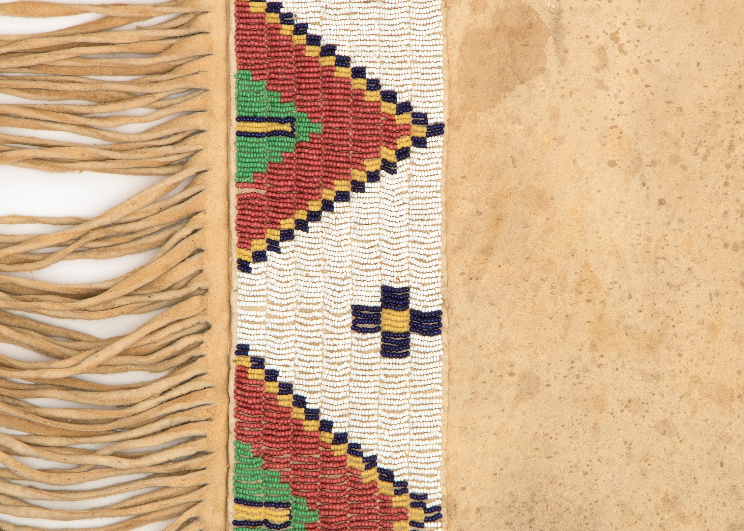 Antique Beaded Native American Leggings, Northern Arapahoe, 19th ...