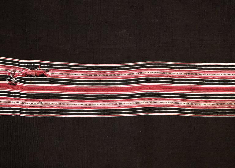 Bolivian Aymara Aguayo Textile Woven of Camelid Wool, Mid-19th Century 4