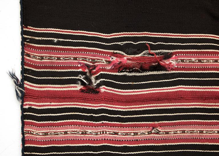 Bolivian Aymara Aguayo Textile Woven of Camelid Wool, Mid-19th Century 5