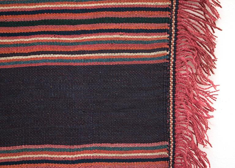 Woven of Camelid Wool with natural dyes, Aymara culture, Sica Sica region, Bolivia.