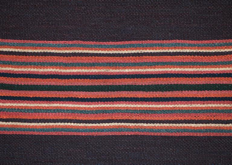 Native American Aymara Camelid Wool Poncho, Bolivia, Mid-19th Century For Sale