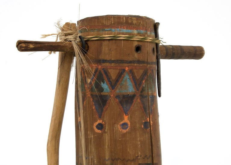 Amos Gustina Apache Fiddle (Native American Musical Instrument)