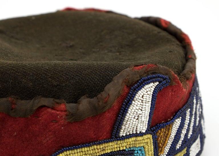 Native American Beaded Head Ring, Kwakwaka'wakw 'Kwakiutl', Late 19th Century 8