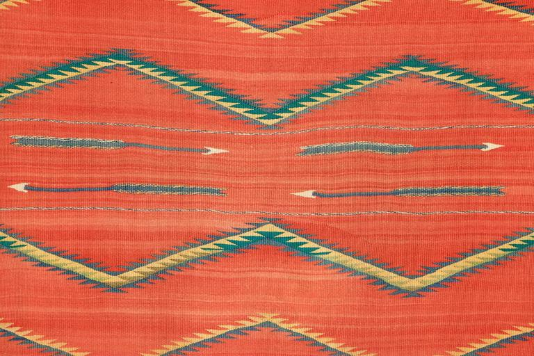 19th Century Native American Transitional Blanket, Navajo, circa 1875-1900 For Sale