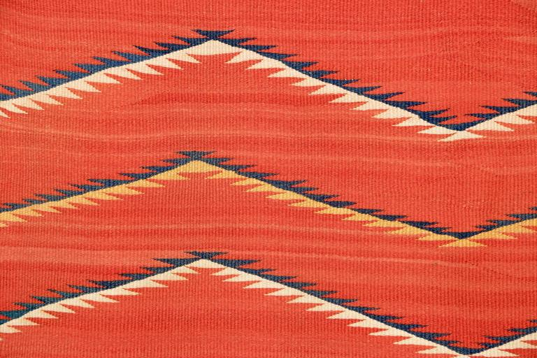 Native American Transitional Blanket, Navajo, circa 1875-1900 In Good Condition For Sale In Denver, CO
