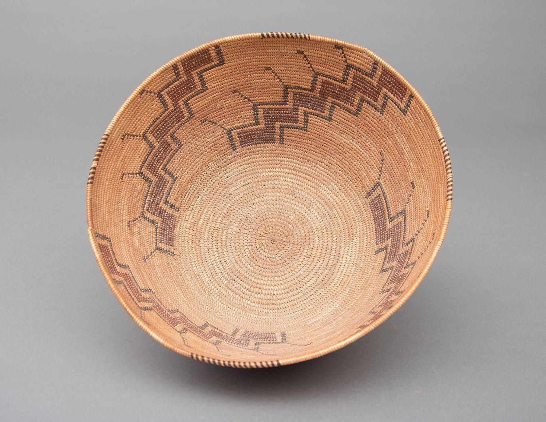 Antique Native American Indian Basket Yokuts California