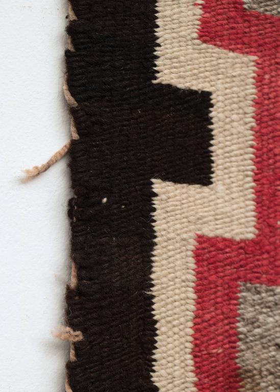 Wool Vintage Navajo Trading Post Rug, circa 1930 For Sale