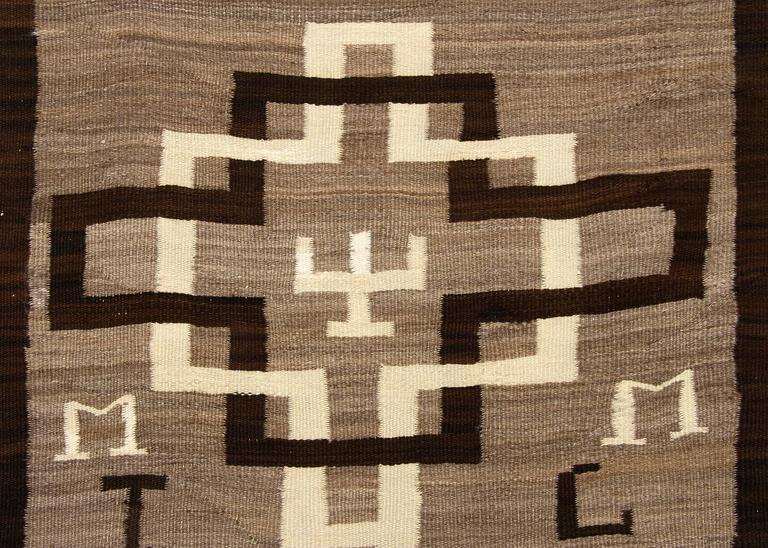 vintage pictorial navajo runner rug circa 1935 for sale at 1stdibs
