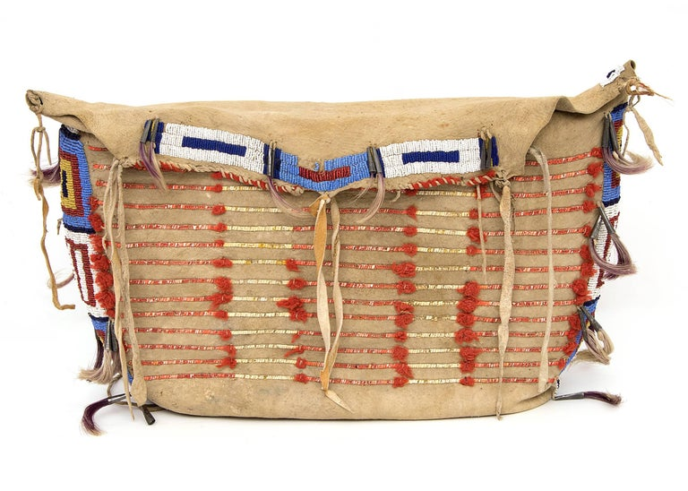 Antique Native American Beaded Possible Bag Sioux At 1stdibs