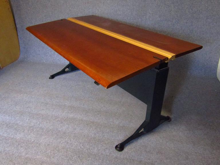 Midcentury Adjustable Desk by Geoff Hollington for Herman Miller In Good Condition For Sale In Saarbruecken, DE
