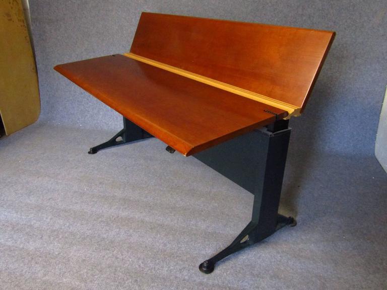 Midcentury Adjustable Desk by Geoff Hollington for Herman Miller For Sale 2