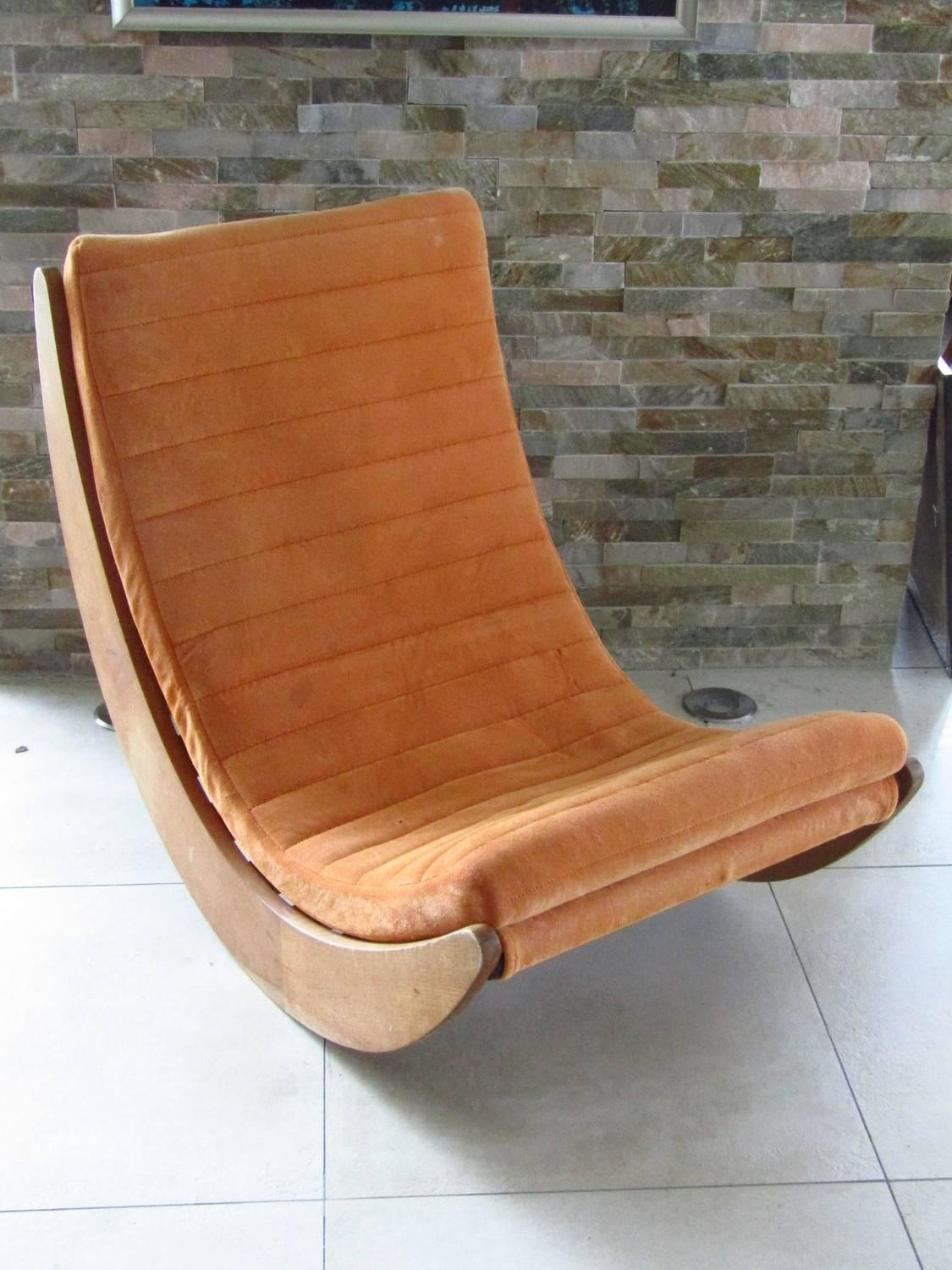 rocking chair relaxer denmark 1974 by verner panton for sale at