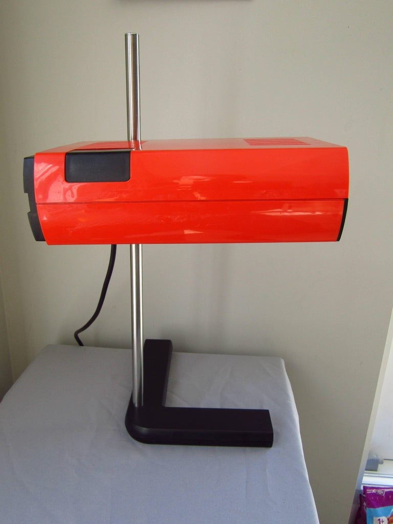 Mid-Century Desk Lamp by J.R. Talopp, France, 1970 In Good Condition For Sale In Saarbruecken, DE