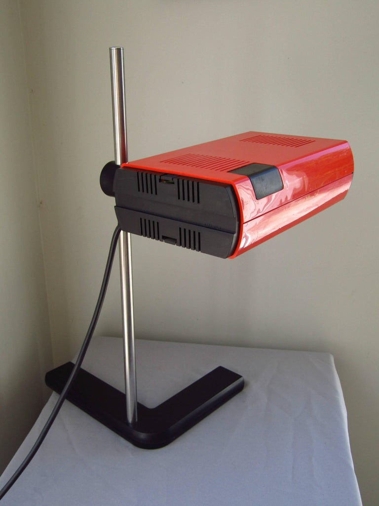 Late 20th Century Mid-Century Desk Lamp by J.R. Talopp, France, 1970 For Sale