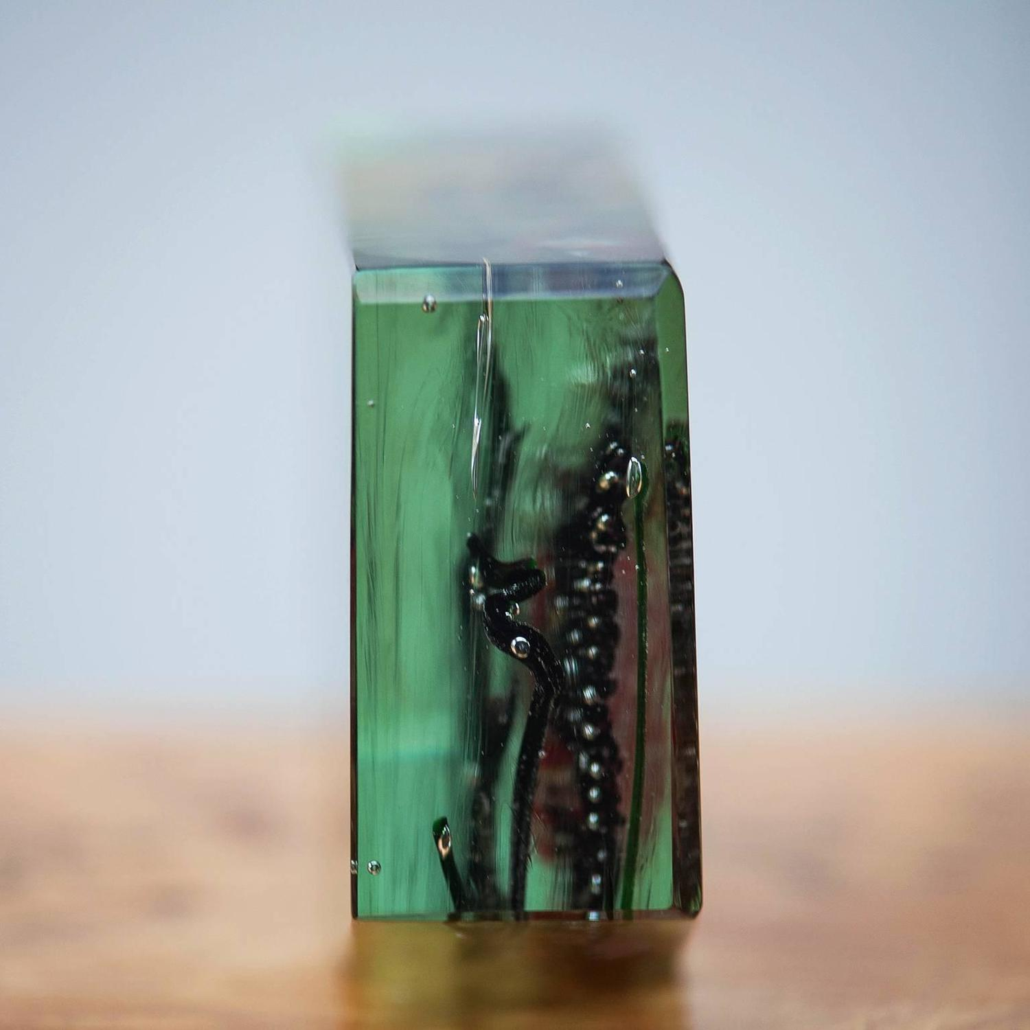 Cenedese Murano Glass Aquarium Object For Sale at 1stdibs