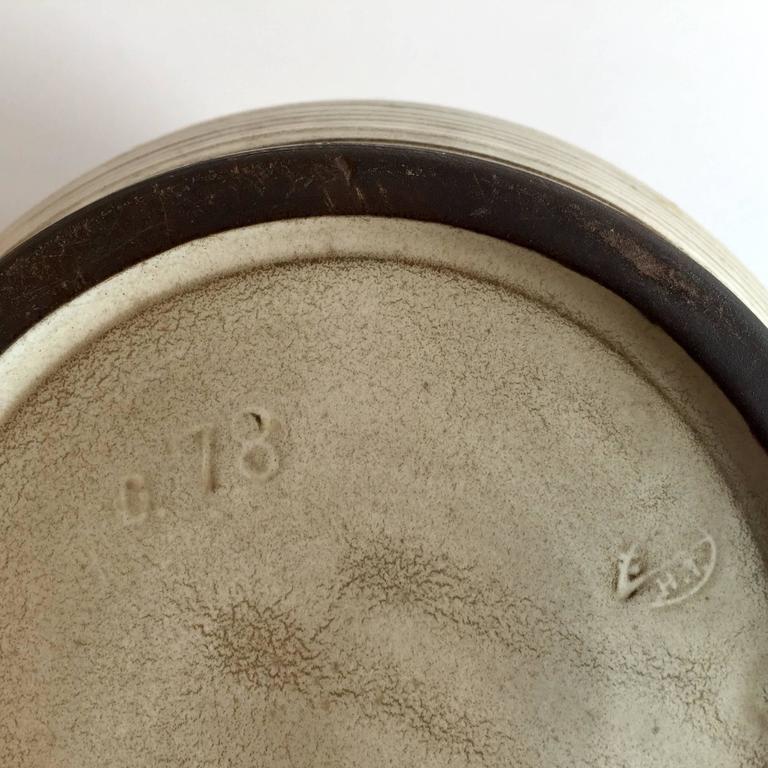 Mid-20th Century Bauhaus Delius Hameln Stoneware Vase For Sale