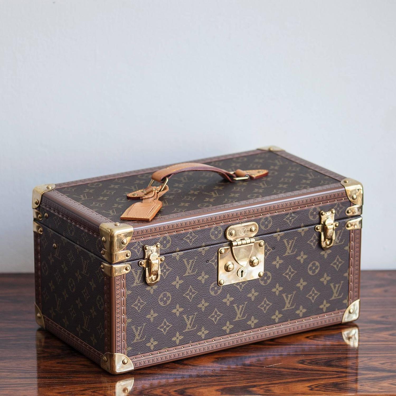 Louis Vuitton Monogram Beauty Travel Case 1980 At 1stdibs