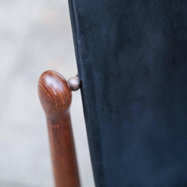 Danish Three Arne Vodder Teak Dining Chairs for France & Dar For Sale
