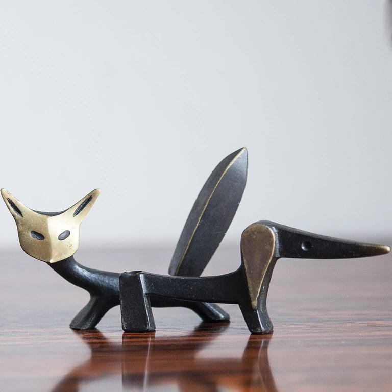 Mid-20th Century Walter Bosse Animal Sculptures, Austria, 1950 For Sale