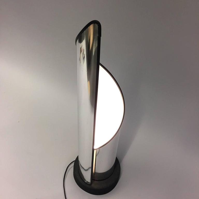 Large Stilnovo Table - Floor Lamp, 1970s In Good Condition For Sale In Munich, DE