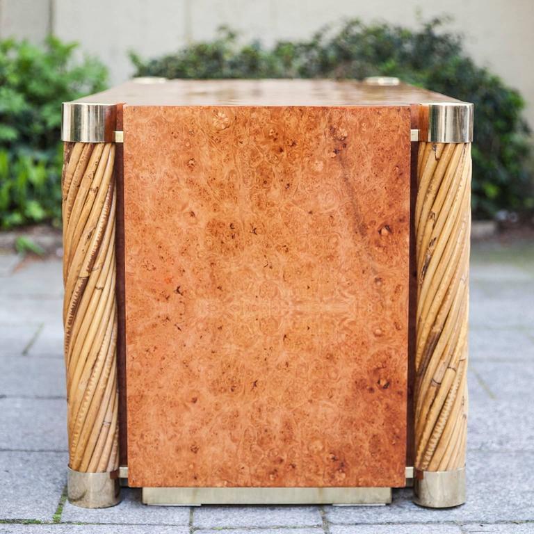 Rare Gabriella Crespi Amboina Dresser Plurimi Series Signed For Sale 1