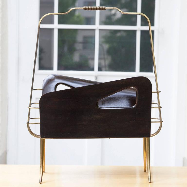 Gio Ponti Style Magazine Rack  2