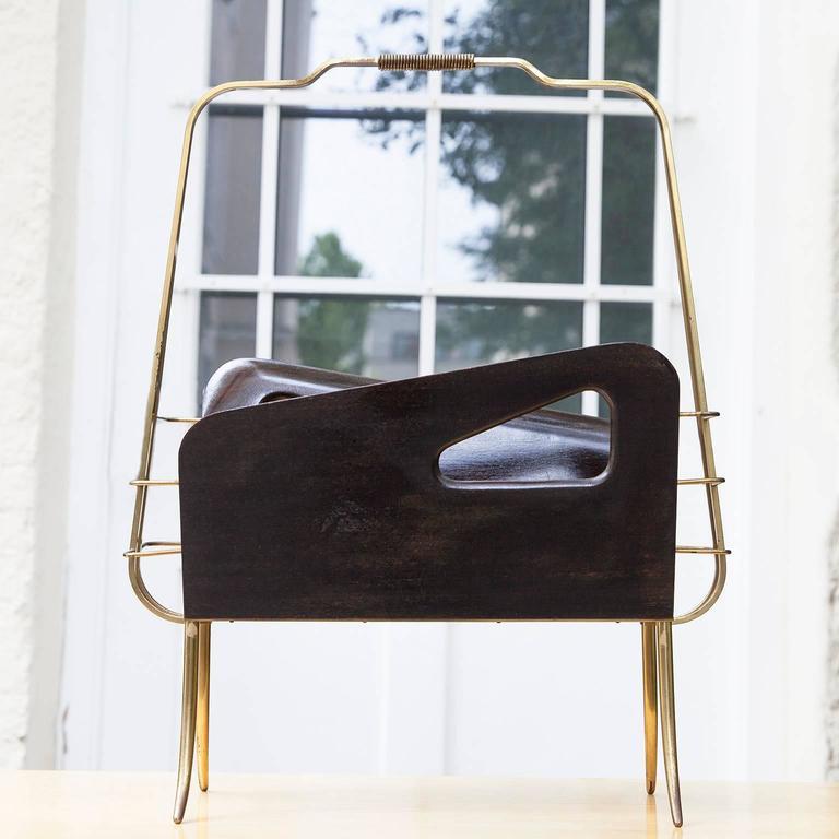 Gio Ponti Style Magazine Rack  3