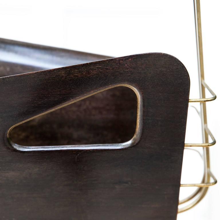 Gio Ponti Style Magazine Rack  5