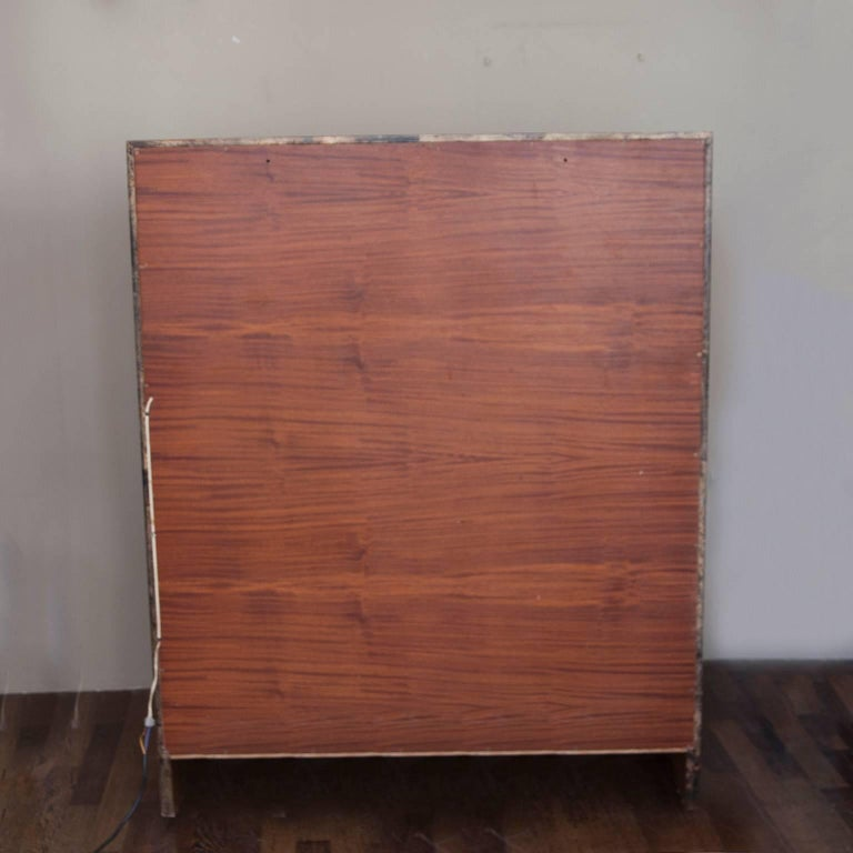 Aldo Tura Trompe L'Oeil Bar Cabinet, Italy, 1960 For Sale 1