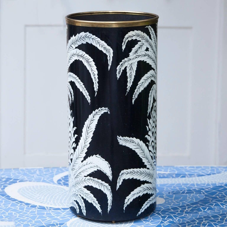 Italian Piero Fornasetti Pineapple Umbrella Stand, 1950s For Sale