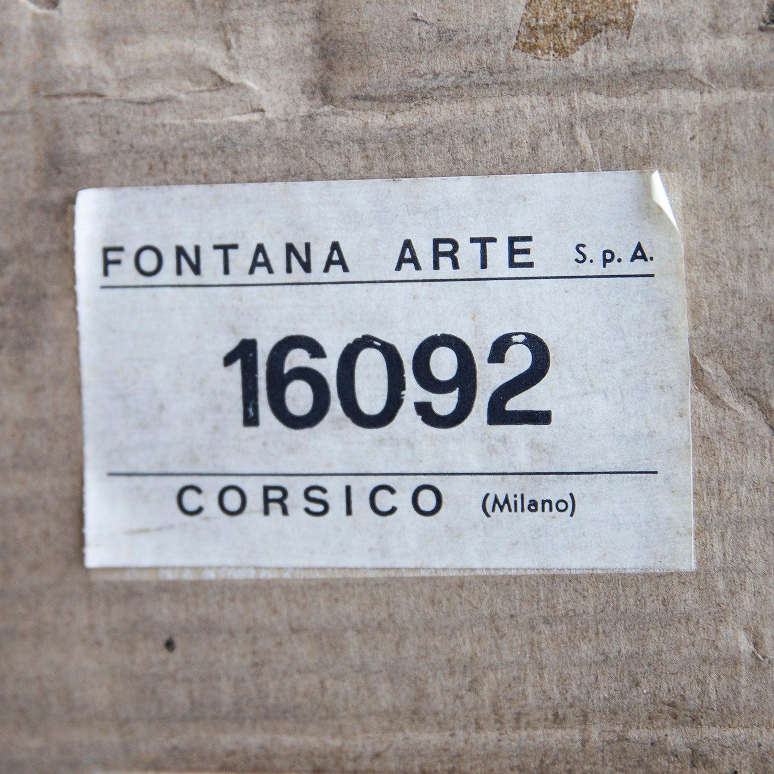 Fontana Arte Fatua Tischleuchte von Guido Rosati im Angebot bei 1stdibs